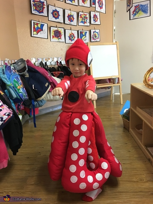 The Cutest Octopus Costume