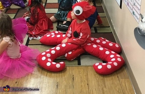 When an octopus needs to sit on the floor..., The Cutest Octopus Costume