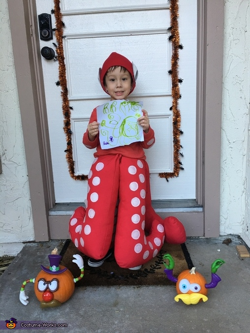 The Cutest Octopus Homemade Costume