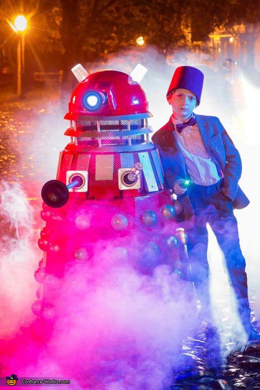 The Dalek Costume