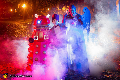 The Dalek Homemade Costume