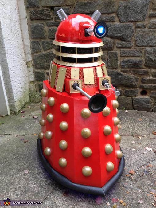 The Dalek Homemade Costume