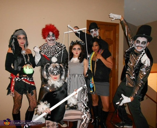 The Dark Circus Group Costume