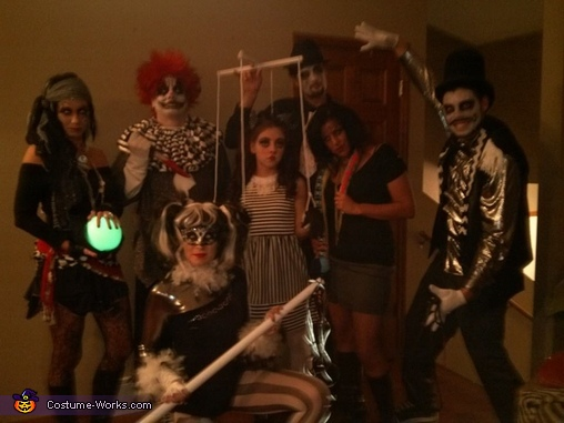 The Dark Circus, The Dark Circus Group Costume