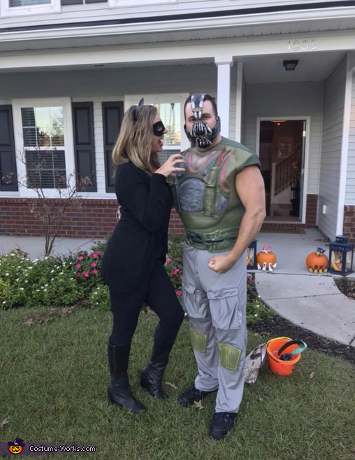 Bane loves Catwoman!, The Dark Knight Family Costume