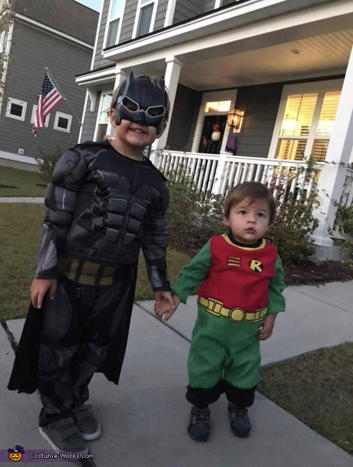 The stars of the show!, The Dark Knight Family Costume
