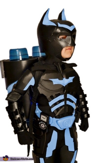 The Dark Knight Lego Batman DIY Costume