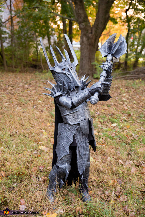 The Dark Lord Sauron Homemade Costume