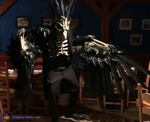 The Dead Crow Homemade Costume