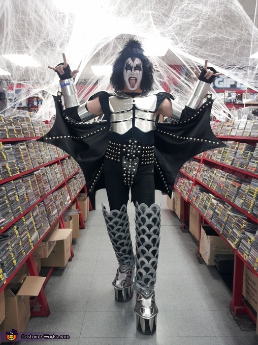 The Demon from KISS Costume