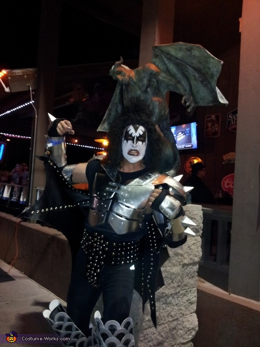 The Demon from KISS Homemade Costume