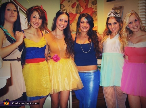 The Disney Princesses Costume