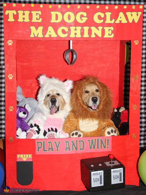 The Dog Claw Machine Costume
