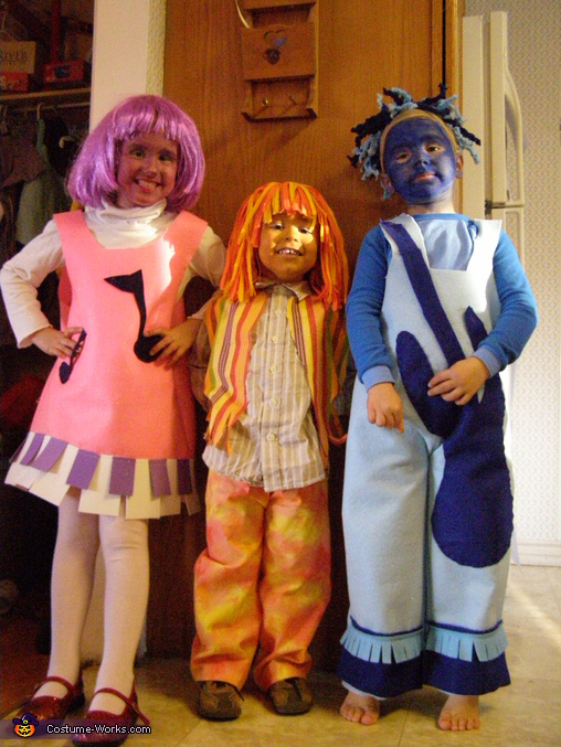 The Doodlebops Costume