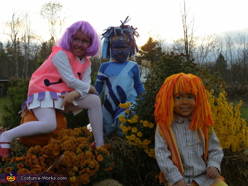 The Gang, The Doodlebops Costume