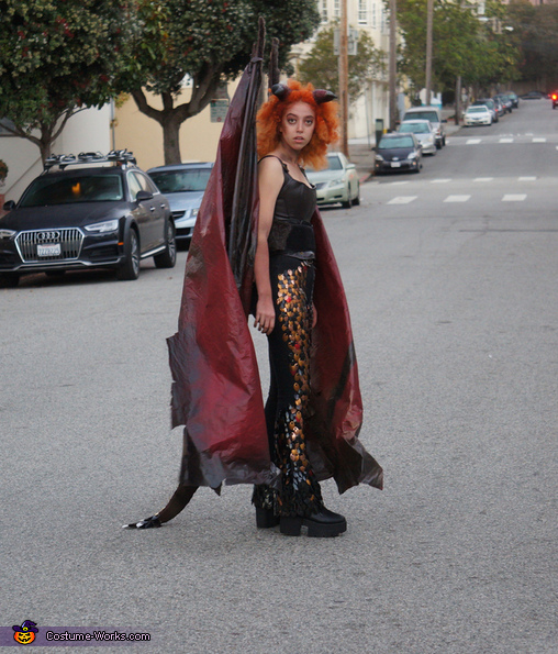 The Dragon Homemade Costume