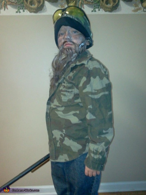 The Duck Commander Phil Costume