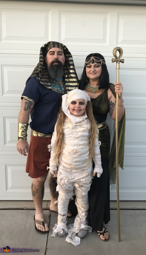 The Egyptian Crew Costume