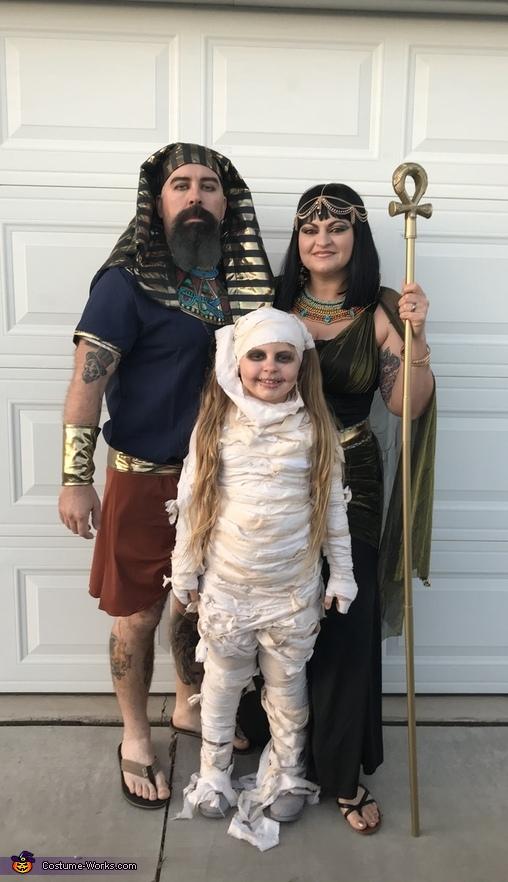The Egyptian Crew Costume