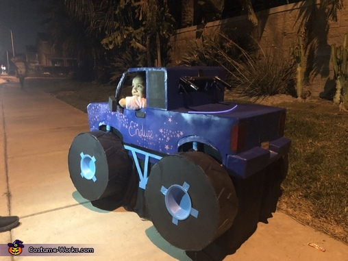 The Endure Monster Truck Homemade Costume