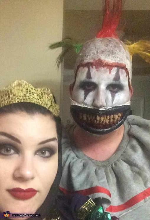 The Evil Queen and Twisty the Clown Costume