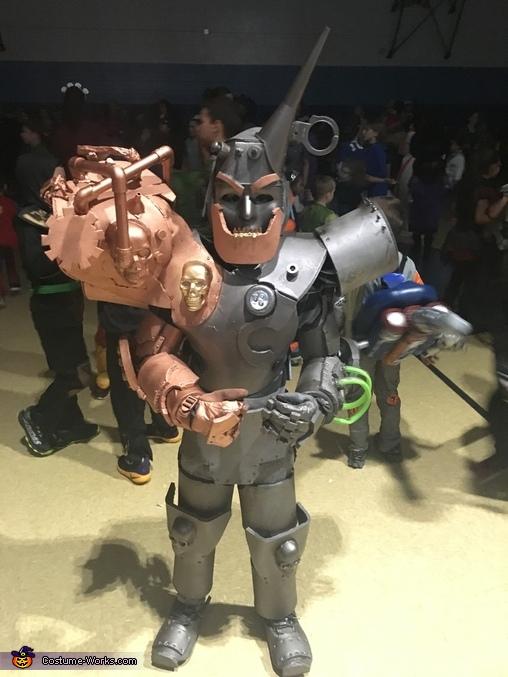 """The """"Evil"""" Tin Man Costume"""