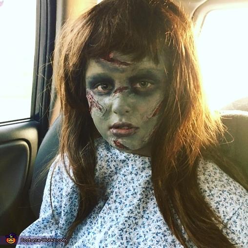 The Exorcist Homemade Costume