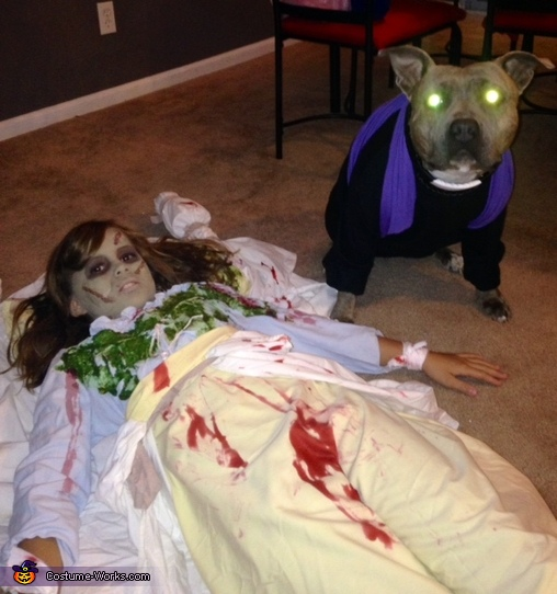 The Exorcist & The Priest, The Exorcist Costume