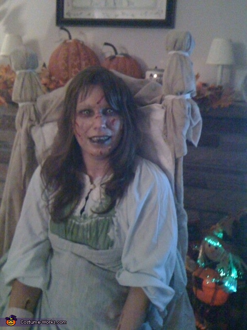 closer so you can see more detail, The Exorcist!! Reagan Costume