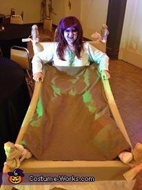 The Exorcist Regan Homemade Costume