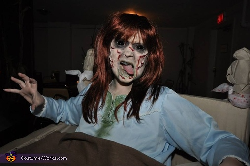 The Exorcist Regan Homemade Costume