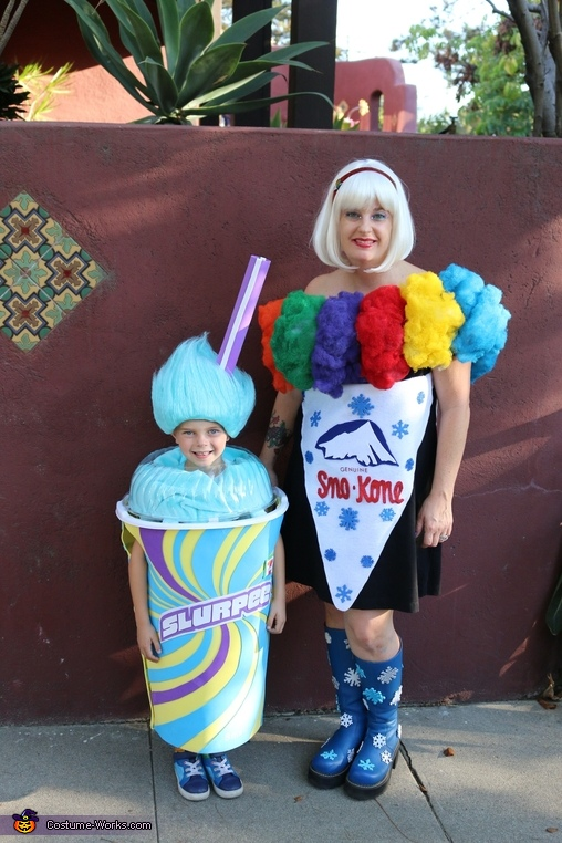 The Family that Chills! Homemade Costume