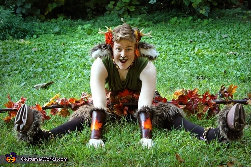 Feeling playful!, The Faun Costume