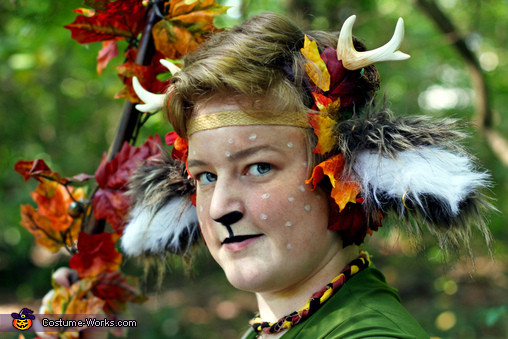 Mysterious, The Faun Costume