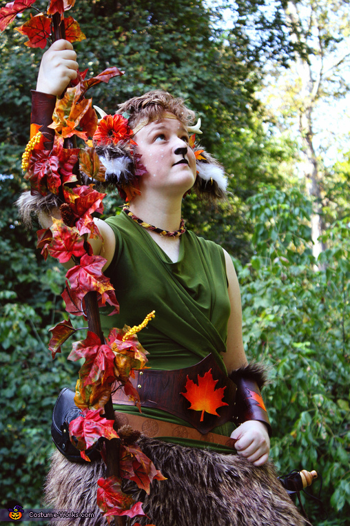 Do I look mystical yet?, The Faun Costume