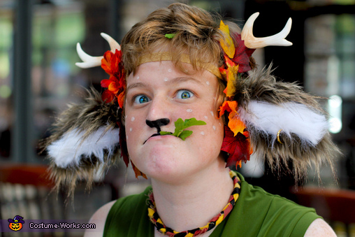 OMNOMNOM, The Faun Costume
