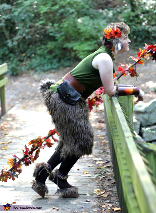 Hanging Out, The Faun Costume