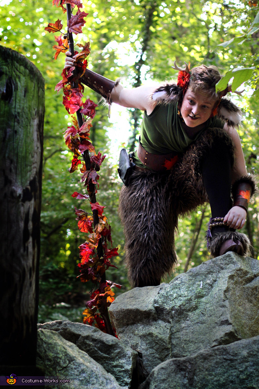 'Aren't there trolls under bridges?', The Faun Costume