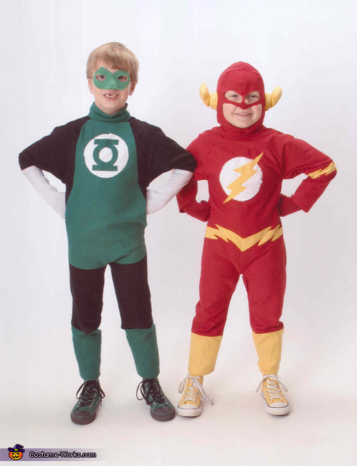 The Brave and The Bold, The Flash and Green Lantern Superheroes Costume
