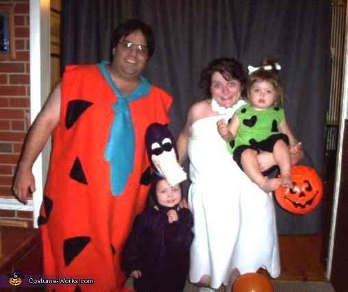 The Flintstone Family Costume