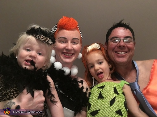 The Flintstones Family Costumes