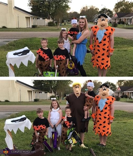 The Flintstones Family Costumes