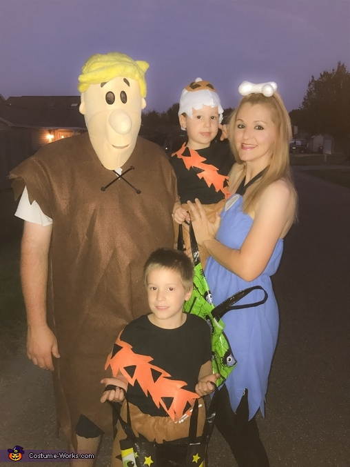 The Rubbles, The Flintstones Family Costumes