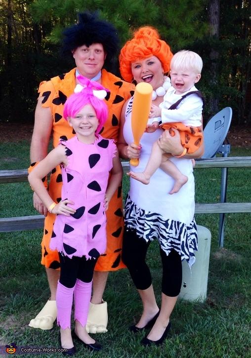 The Flintstones Family Costume