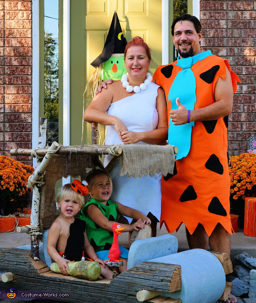 The Flintstones Family Costumes  sc 1 st  Costume Works & The Flintstones Family Costumes DIY