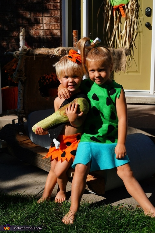 Pebbles & Bamm Bamm!, The Flintstones Family Costumes