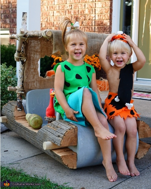 The Flintstones Family Costumes DIY