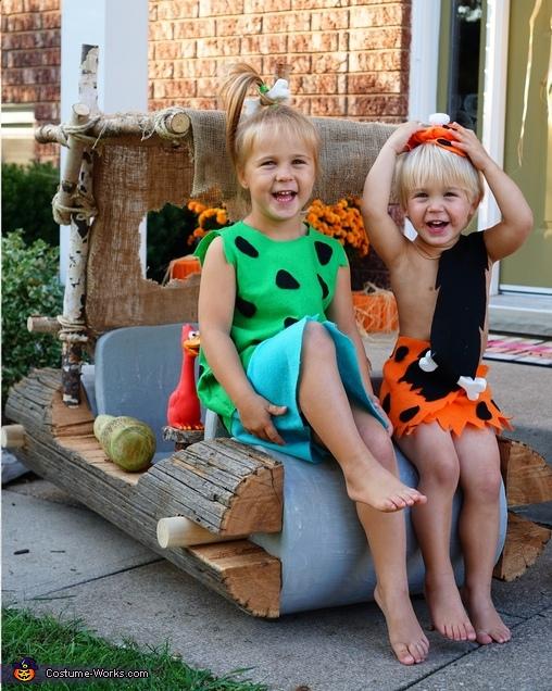 The Flintstones Family Costumes DIY
