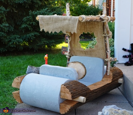 Flintstones car!, The Flintstones Family Costumes