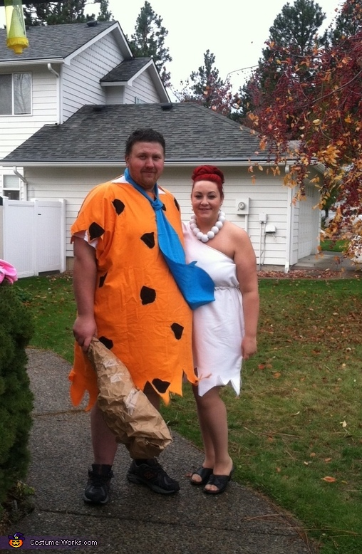 Wilma and Fred, The Flintstones Costume